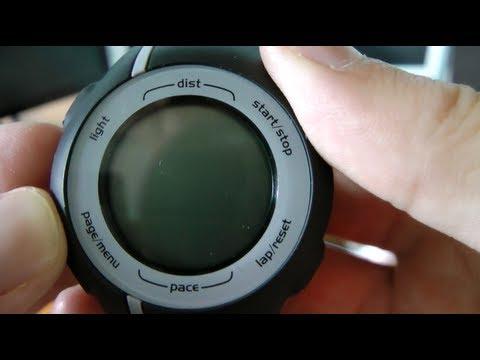 Unboxing: Garmin Forerunner 110 GPS Sport Watch