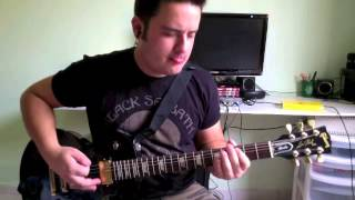 NOX ETERNA - I`ve Been Here Before (guitar-play through)