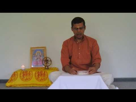Harilalji Chants Chapter 3 Of The Bhagavad Gita video