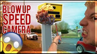 MY BRO DESTROYED A SPEED CAMERA