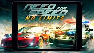Игра за 5 минут (Need For Speed No Limits iOS iPad Air 2)