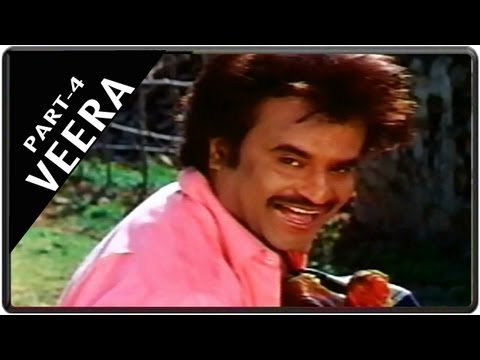 Veera Movie Part 4 || Starring Rajnikanth, Meena, Roja video