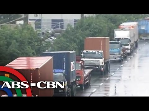 Port congestion hits trucking companies