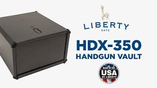 HDX-350 - Liberty Safe Handgun Vault
