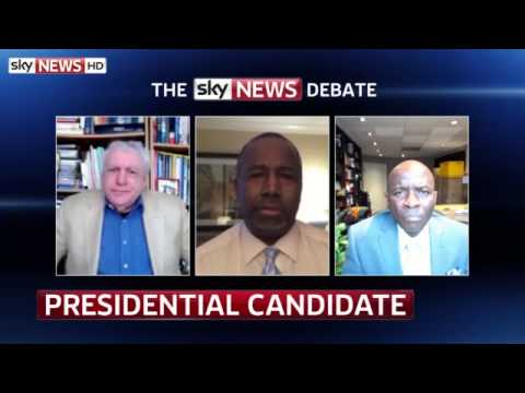Sky News Debate America: White House Hopeful Speaks to Sky