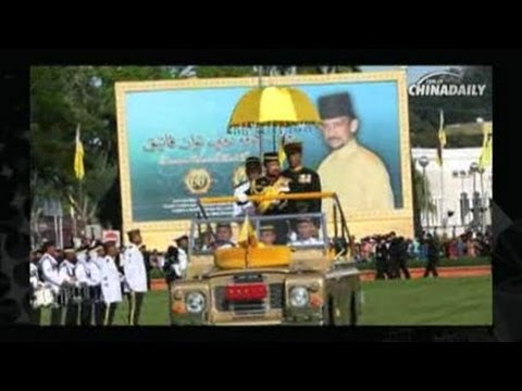 Brunei celebrates Sultan's 66th birthday