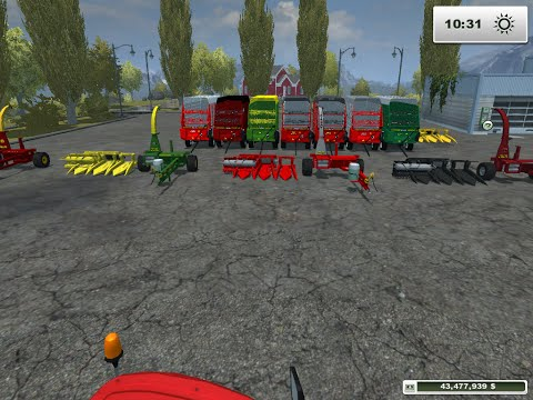 Farming Simulator 2013 Mod Spotlight :: Forage Harvester