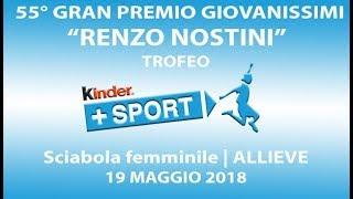 55° GPG Trofeo Kinder +Sport - IV GIORNATA - ScF Allieve