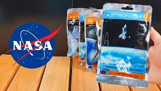PROVEI A COMIDA DOS ASTRONAUTAS !!! ( NASA )