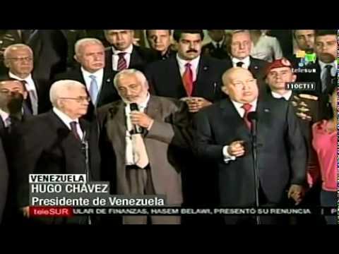 Mahmoud Abbas visit Venezuela