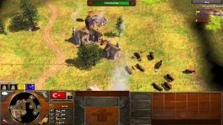 Age of Empires 3 How to Beat AOE3's Expert CPU Bot AI *Tutorial* - Commentary w/ Interjection