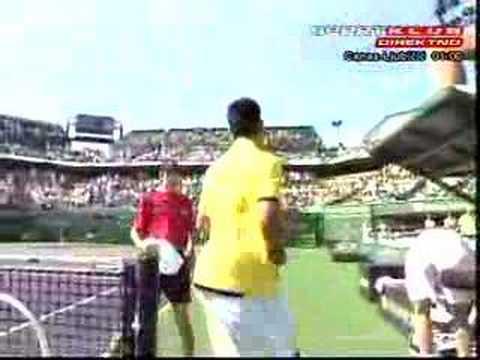 Novak Djokovic - Andy Murray Miami 2007 semifinal last game