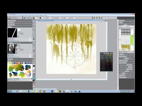 Corel Painter 12.2 Real Wet Oils and Flow Maps