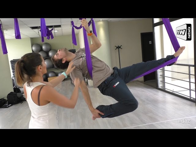 Jeremy DAZ Sports: Aerial yoga
