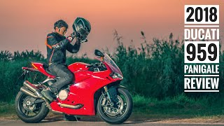 2018 Ducati 959 Panigale Review (300 Km Road test) RWR