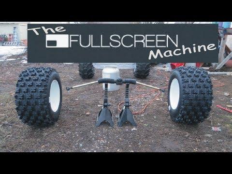 AWESOME NEW █  GO KART TIRES ( The Fullscreen Machine )