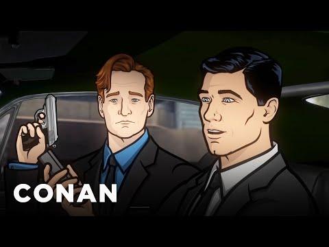 Conan & Archer Battle Russian Mobsters  - CONAN on TBS
