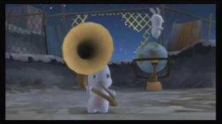 Rabbids Go Home (Wii) First 30 Minutes - Part 1: Moon is Home?