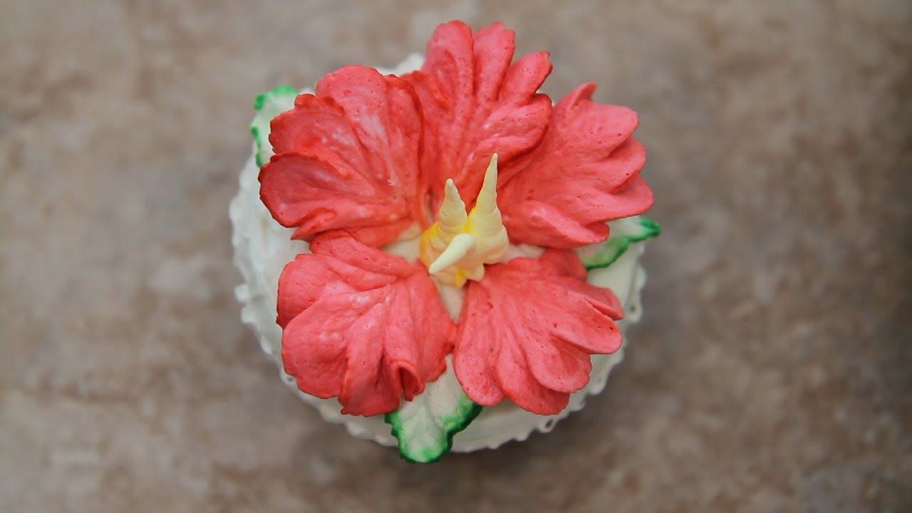 Hibiscus Cake How To Decorate Cupcakes Quot Hibiscus Flower