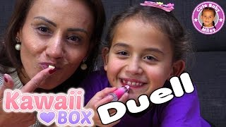 KAWAII BOX DUELL DOPPEL UNBOXING | MAMA VS. TOCHTER | süße Japanese Box  | CuteBabyMiley