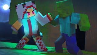 New Rage Girl vs Hacker Animation (Top Minecraft Songs)