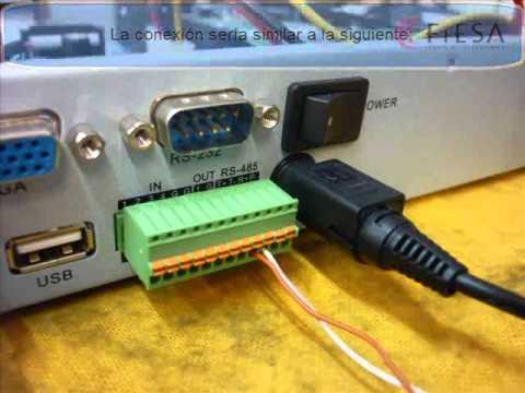 Como configurar un DVR HIKVISION para controlar un DOMO PTZ