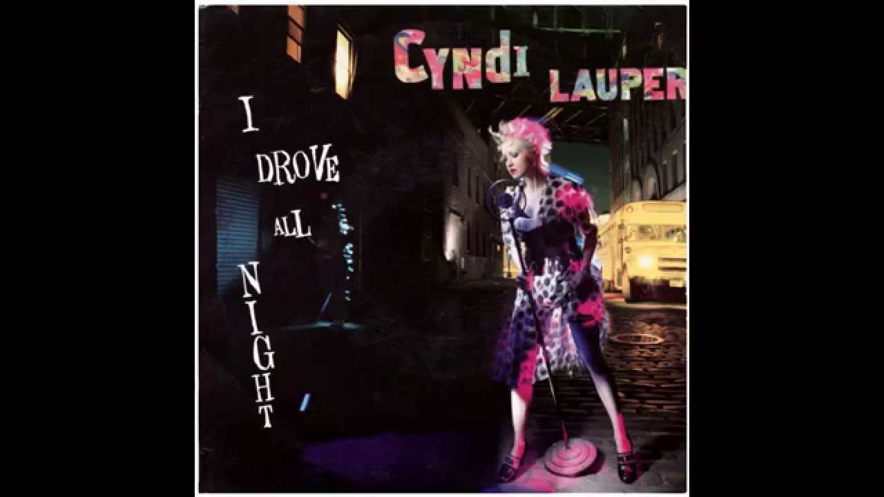 Cyndi Lauper i Drove All Night Album Lauper i Drove All Night