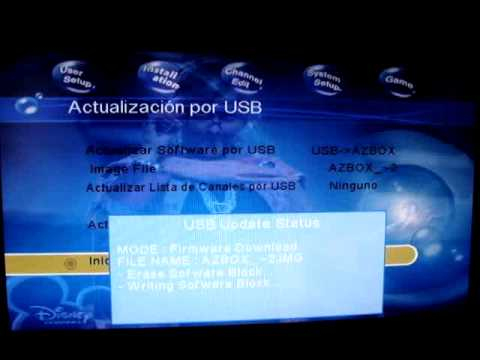 Actualizacion AZBOX S720B y EVO XL - Software Update AZBOX S720B and EVO XL