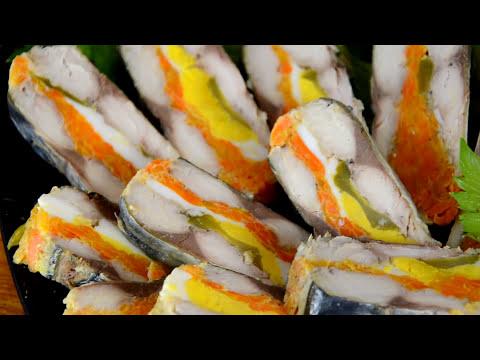СКУМБРИЯ ПО ЦАРСКИ вкуснейший деликатес своими руками | Тёщины Рецепты 🎬