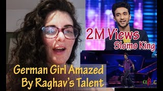 German Girl Watch Raghav CROCKROAXZ Juyal Dance