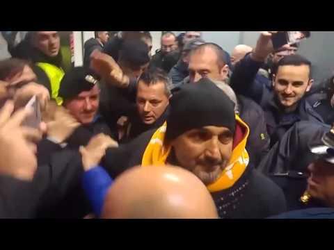 Roma, ressa a Fiumicino per Spalletti - Serie A TIM 2015/16