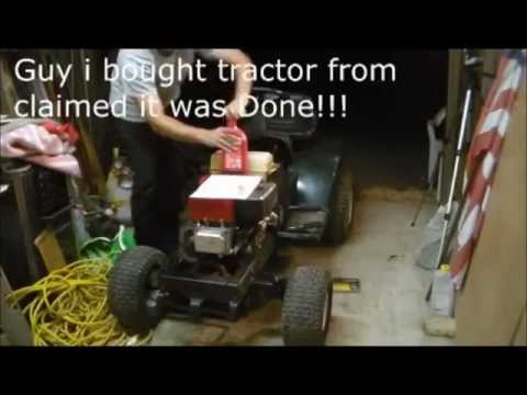 30 minute tune up for 30 bucks Riding lawn tractor