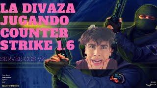 La Divaza Jugando Counter Strike/ CGS Vzla