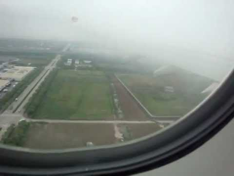 Shanghai Pudong Airport landing Etihad Airways A330-200 from Abu Dhabi