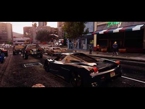 GTA 6 - NEW SUPER REALISTIC GRAPHICS (Cars Gameplay)