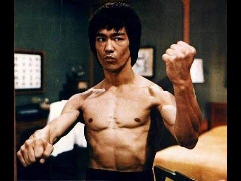 The Slow Motion Of  Bruce Lee Kung Fu [feint Skills] 李小龙功夫假动作技巧与其他动作慢镜头 video