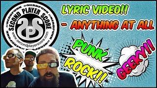 Second Player Score - Anything At All (Punk Rock Lyric Video/Galaga Gameplay)