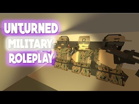 Unturned Serious Military RolePlay! thumbnail