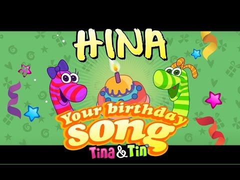 Tina&Tin Happy Birthday HINA