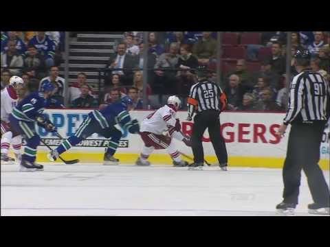 Coyotes Own Goal Vs Canucks - Dan Hamhuis 2-0 Goal - 04.08.13 - HD