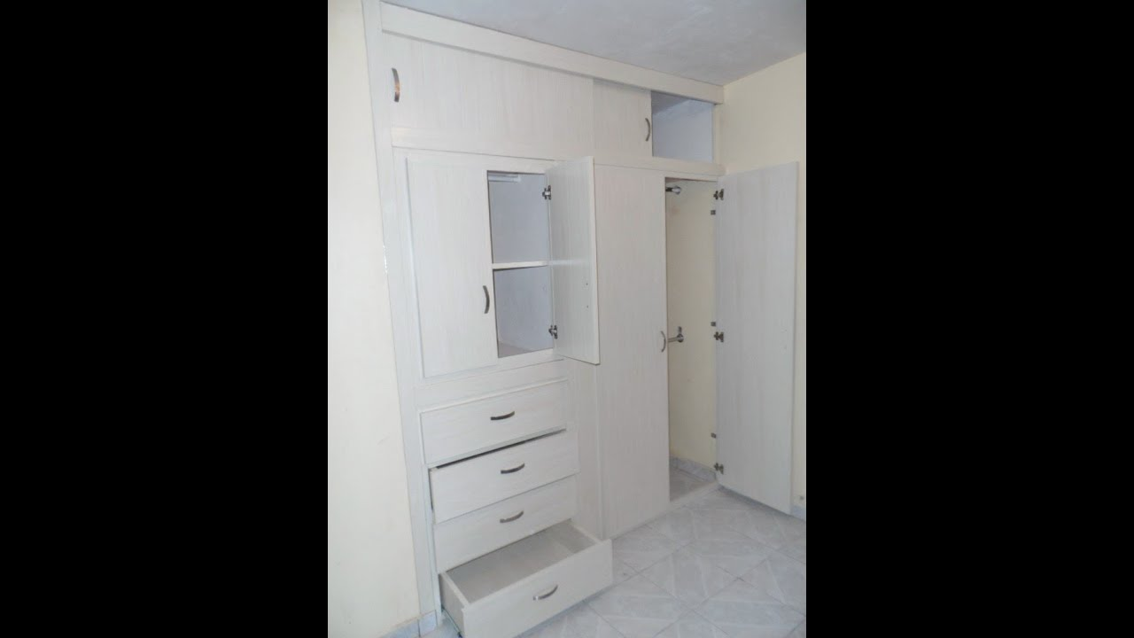 Closet de pvc super funcional versatil y durable youtube - Pintar muebles de melamina fotos ...
