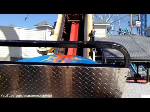 Fireball (HD POV) Kemah Boardwalk Texas
