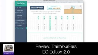 Review - TrainYourEars EQ Edition 2.0