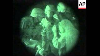 Latest footage of US troops in action