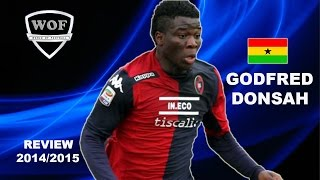 GODFRED DONSAH | Cagliari | Goals, Skills, Assists | 2014/2015  (HD)