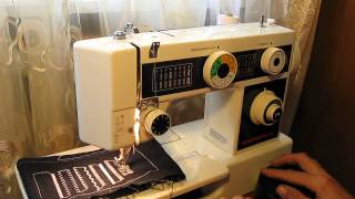 Sewing machine Швейная машина QUASATRON test