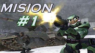 Halo Combat Evolved CAMPAÑA   MISION #1 HALO EN ESPAÑOL
