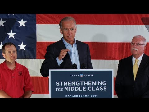 Vice President Joe Biden's Speech in Waterloo, Iowa - Full Speech