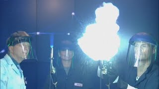 Firework Chemistry and More Experiments with Science Bob