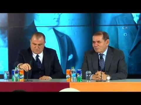 Fatih Terim Galatasaray'a İmzayı Attı